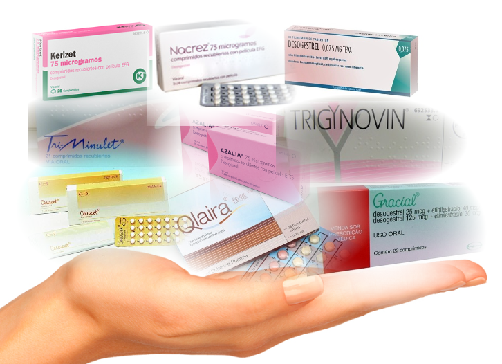 pastillas anticonceptivas de 21 dias+semana de descanso